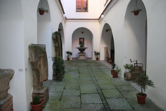Atrium Chodského hradu